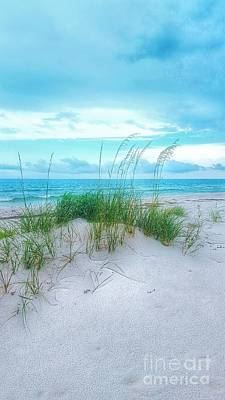 Photograph - A Sleepy Blue Ocean by Rachel Hannah