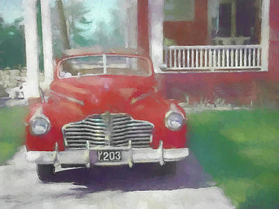 Digital Art - A Slice Of Americana Dop by David King
