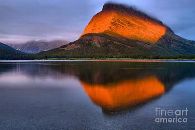 Photograph - A Slice Of Glacier Orange by Adam Jewell