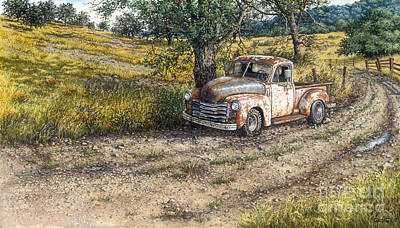 Painting - A Slight Delay by Janet Kruskamp
