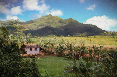 Photograph - A Small Filipino Farm On Leyte Island,philippines by Rusty R Smith