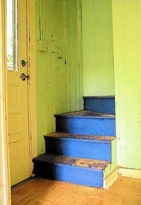 Mixed Media - Stairway by Strangefire Art Scylla Liscombe