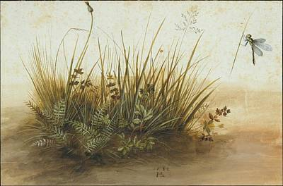 Painting - A Small Piece Of Turf by Hans Hoffmann