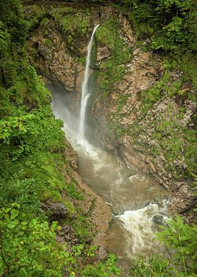 Nirvana - A small waterfall in the austrian Rettenbachtal by Stefan Rotter