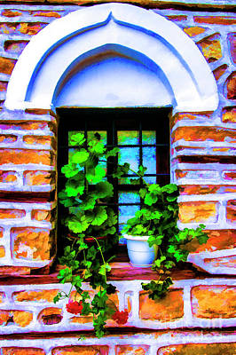 Photograph - A Small Window by Rick Bragan