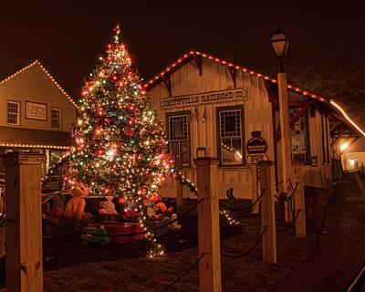 Photograph - A Smithville Christmas by Kristia Adams