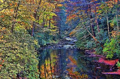 Photograph - A Smoky Mountain Autumn by HH Photography of Florida