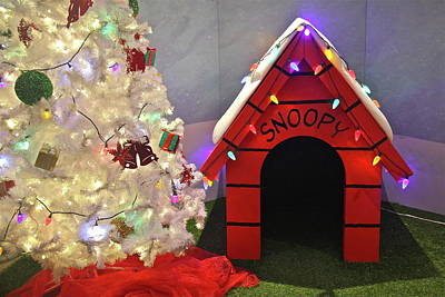 Photograph - A Snoopy Christmas by Denise Mazzocco