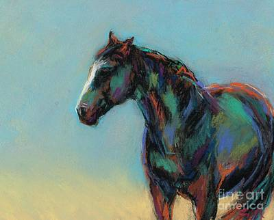 Pastel - A Soft Breeze by Frances Marino