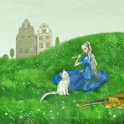 A Song Of Summer Original by Victoria Fomina