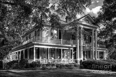 Photograph - A Southern Bell Too The Carlton House Art Southern Antebellum Art by Reid Callaway
