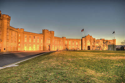 Photograph - A Spartan Environment - The Barracks At V M I by Don Mercer