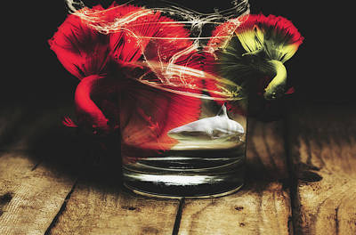 Surreal Digital Art Mixed Media - A Special Glass Of Water by Pixabay