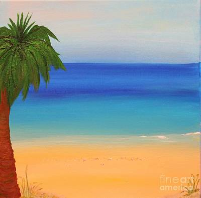 Beach Painting - A Special Place by Mesa Teresita