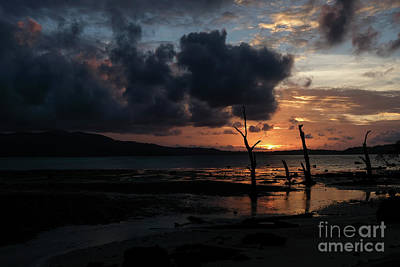 Photograph - A Spectacular Sunset In The Andamans by Fotosas Photography