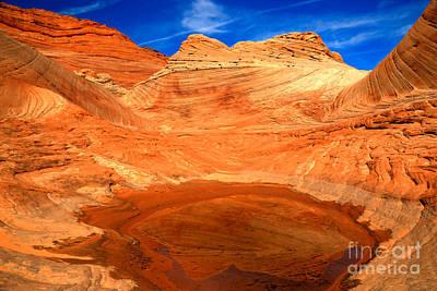 A Splash In The Desert Art Print
