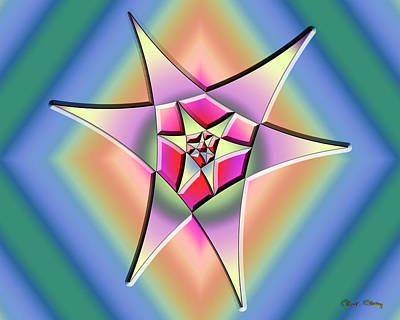 Digital Art - A Splash Of Color 1 by Chuck Staley