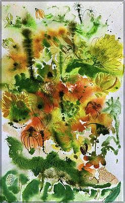 Painting - A Splash Of Color by Meda J