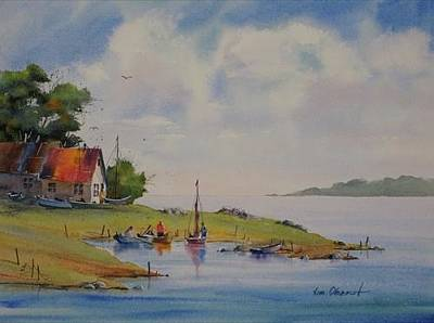Oberst Painting - A Splendid Day by Jim Oberst