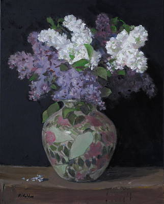 Painting - A Spring Bouquet by Robert Holden