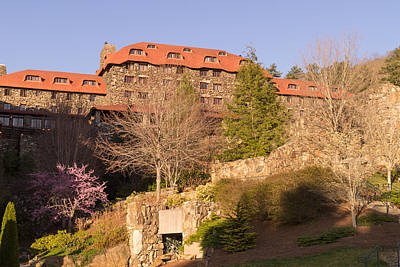 Grove Park Inn Photograph - A Spring Evening At The Grove Park Inn by MM Anderson