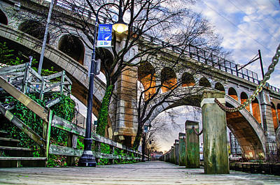 Manayunk Photograph - A Spring Morning Along The Manayunk Canal by Bill Cannon