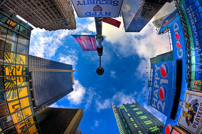 Times Square Photograph - A Square Perception by Joshua Ball