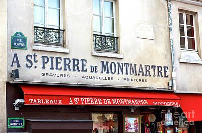 Photograph - A St. Pierre De Montmartre Paris by John Rizzuto