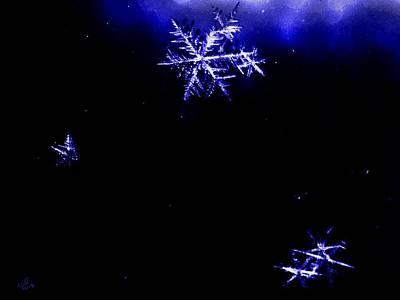 Digital Art - A Star Is Born by Cliff Wilson