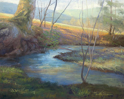 Tennessee River Painting - A Step Away by Jonathan Howe