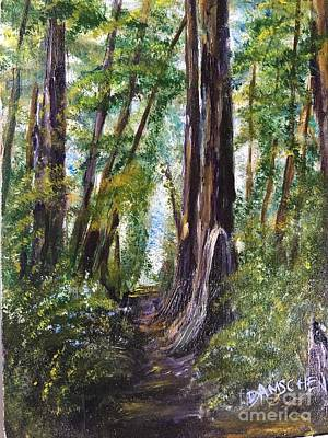 Painting - A Step Into Nature by Cheryl Damschen