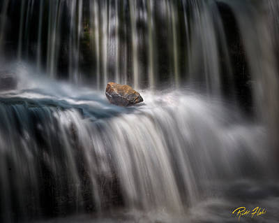 Photograph - A Stone In The Spray by Rikk Flohr