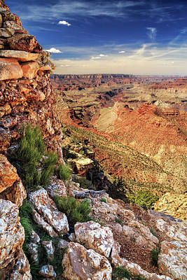 Photograph - A Stones Throw To The Grand Canyon by James Eddy