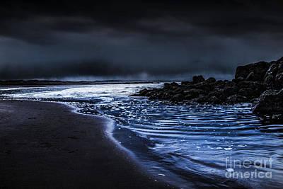 North Wales Digital Art - A Storm At Sea  by Chris Evans