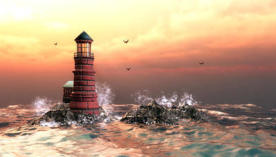 Endearing Digital Art - A Storm Is Coming by John Junek