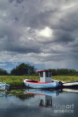 Habor Photograph - A Storm Moves On by Wedigo Ferchland