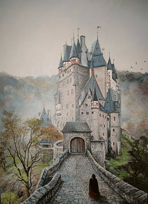 A Story At Eltz Castle Art Print