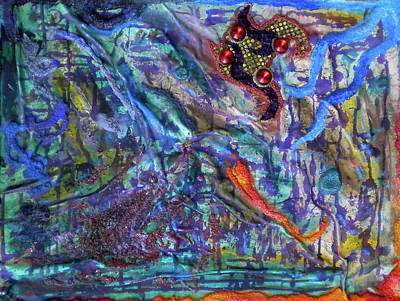 Sublunary World Painting - A Strange New World by Dylan Chambers