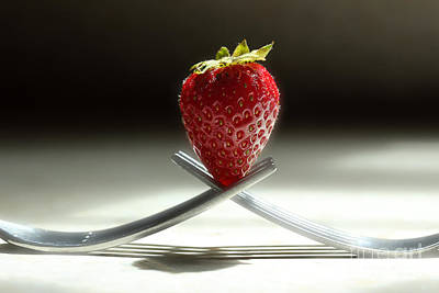 Photograph - A Strawberry For You by Michael Eingle