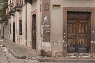 Photograph - A Street Corner In La Paz - A Tighter Crop by Hany J