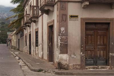 Photograph - A Street Corner In La Paz by Hany J