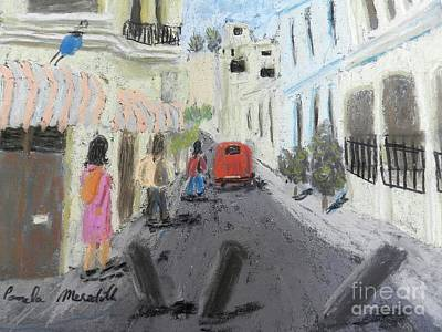 Painting - A Street In Chile by Pamela Meredith