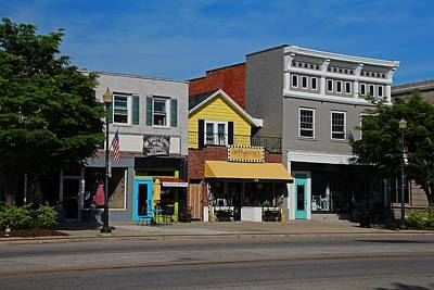 Photograph - A Street In Perrysburg I by Michiale Schneider