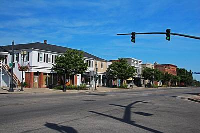 Photograph - A Street In Perrysburg Iv by Michiale Schneider