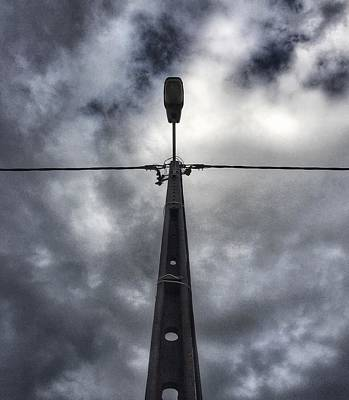 Photograph - A Street Lamp  by Dirk Jung