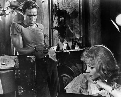 Brando Photograph - A Streetcar Named Desire by Granger