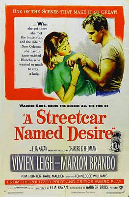 Painting - A Streetcar Named Desire by R Muirhead Art