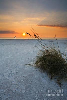 A Stroll On The Beach Original by Mike  Dawson
