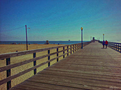 Photograph - A Stroll On The Pier by Diana Haronis