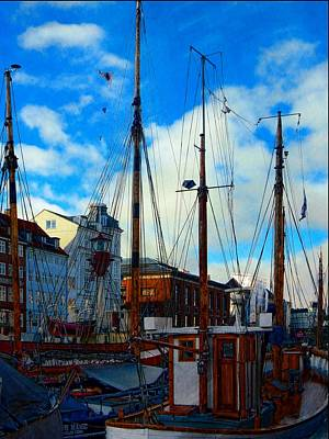 Photograph - A Study In Masts by Dorothy Berry-Lound